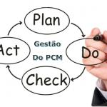 Processo de gestão do PCM utilizando o ciclo PDCA