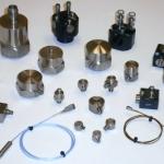Transdutores de captação das vibrações