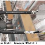 Novo cabo igus para motores SEW e Siemens