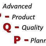 APQP – Planejamento Avançado da Qualidade do Produto